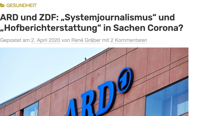 screenshot von renegraeber.de