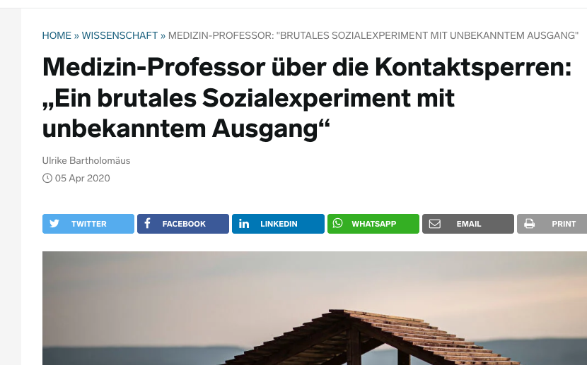 Screennshot von der Website businessinsider.de