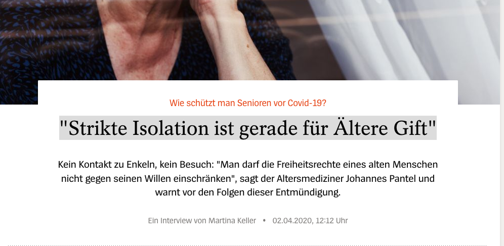Screenshot der Website spiegel.de