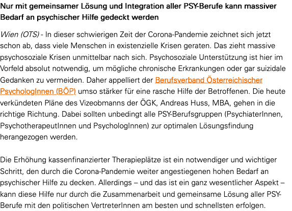 Screenshot der webseite ots.at