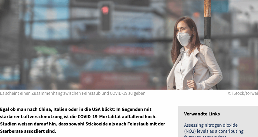 Screenshot der Webseite medical-tribune.de