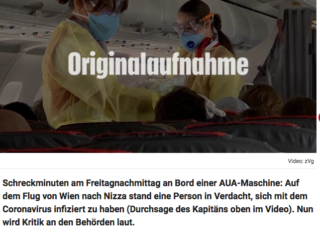 Screenshot der webseite krone.at
