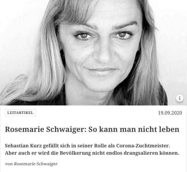 Screenshot der Webseite profil.at