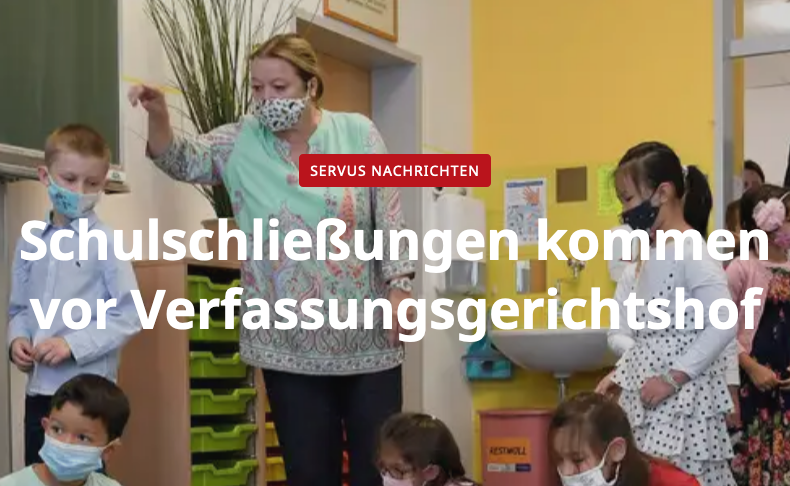 Screenshot der websiete servustv.com