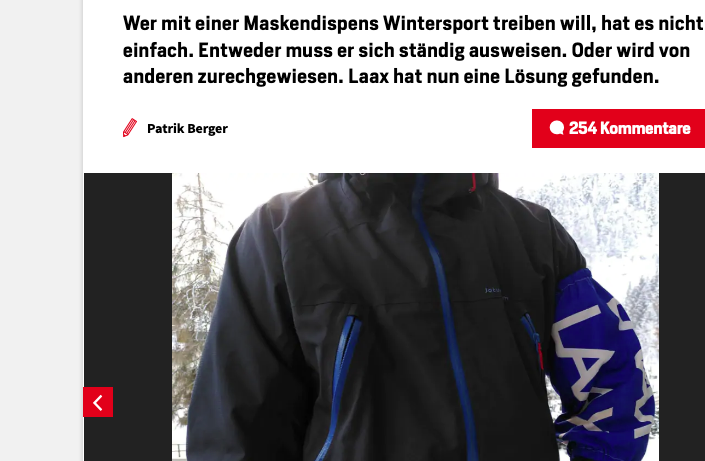 screenshot der websiete blick.ch