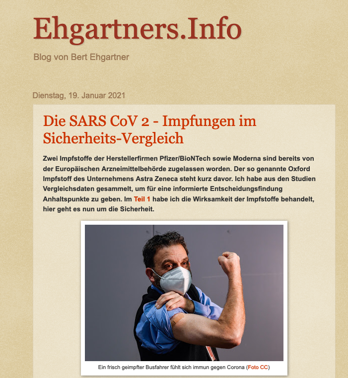 screenshot der webseite ehgartner.blogspot.com