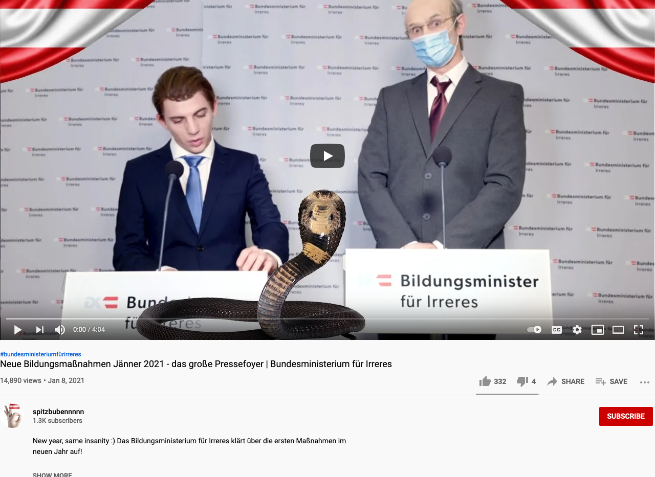 Scrrenshot von youtube